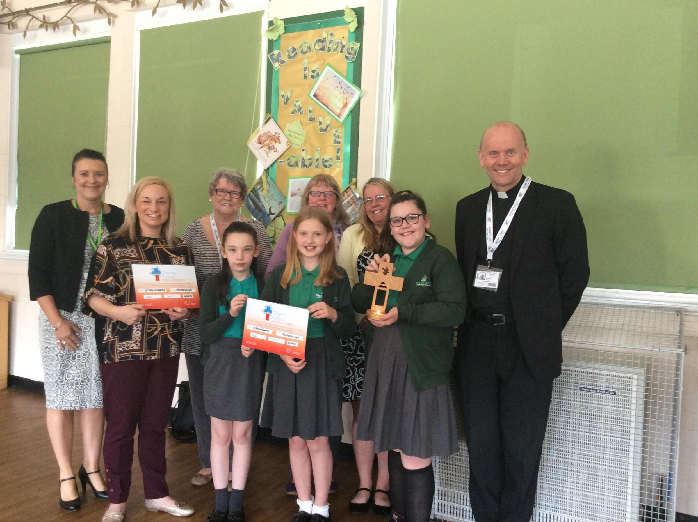 Award for school which upholds Christian values