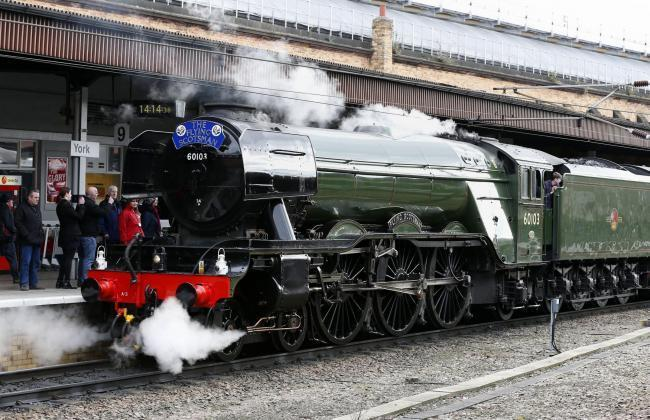 The Flying Scotsman will travel through Newton-le-Willows on Saturday, July 20