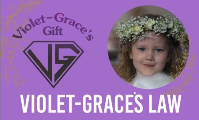 Tens of thousands of people have backed the campaign for Violet-Grace's Law