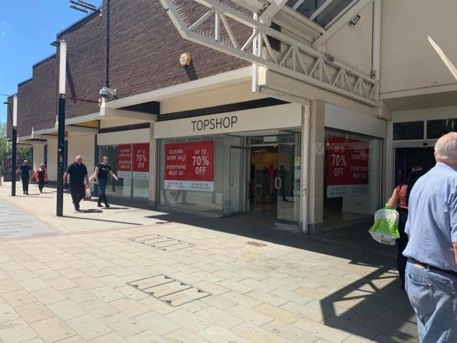 Disgust over Topshop closure
