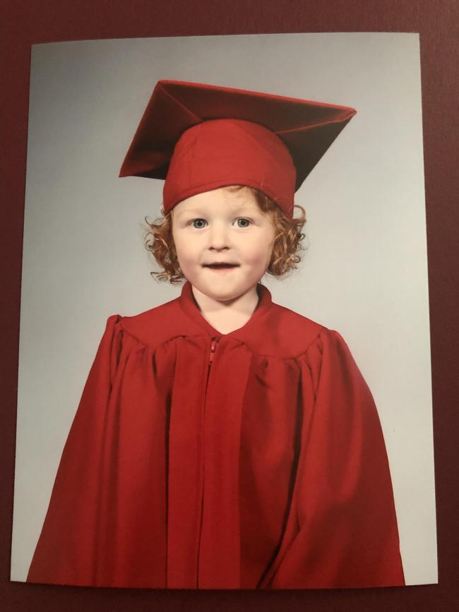 Theo Slater age 2 Broad oak primary school little oaks nursery.  Mrs Berry, Mrs Fletcher and Miss Wilson fantastic early years teachers they are a credit to the school