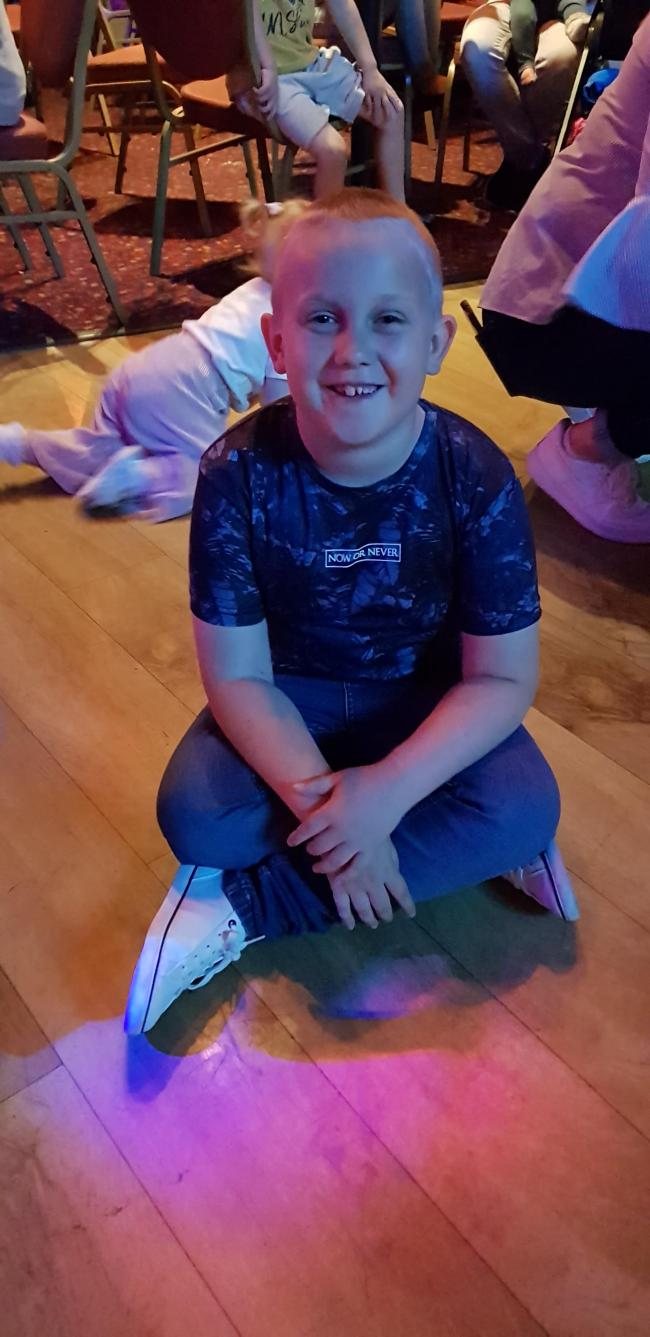 Lewis McBride  Thank you to miss flood who has been Lewis' rock this year. Nothing has been too much for her. She has supported him no end and brought the best out in my precious boy. I cant thank you enough from the bottom of my heart!