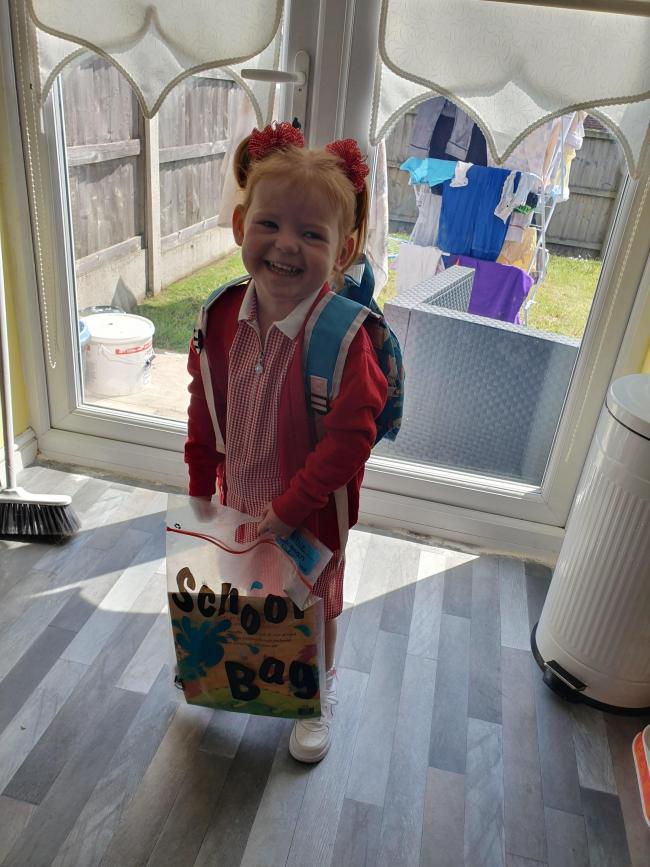 Thankyou to miss berry,miss fletcher. And miss Wilson. For being the best nursery teachers to Mollie longman. She absolutely loves coming to little oakes. And she is going to miss you all very much. Xxx
