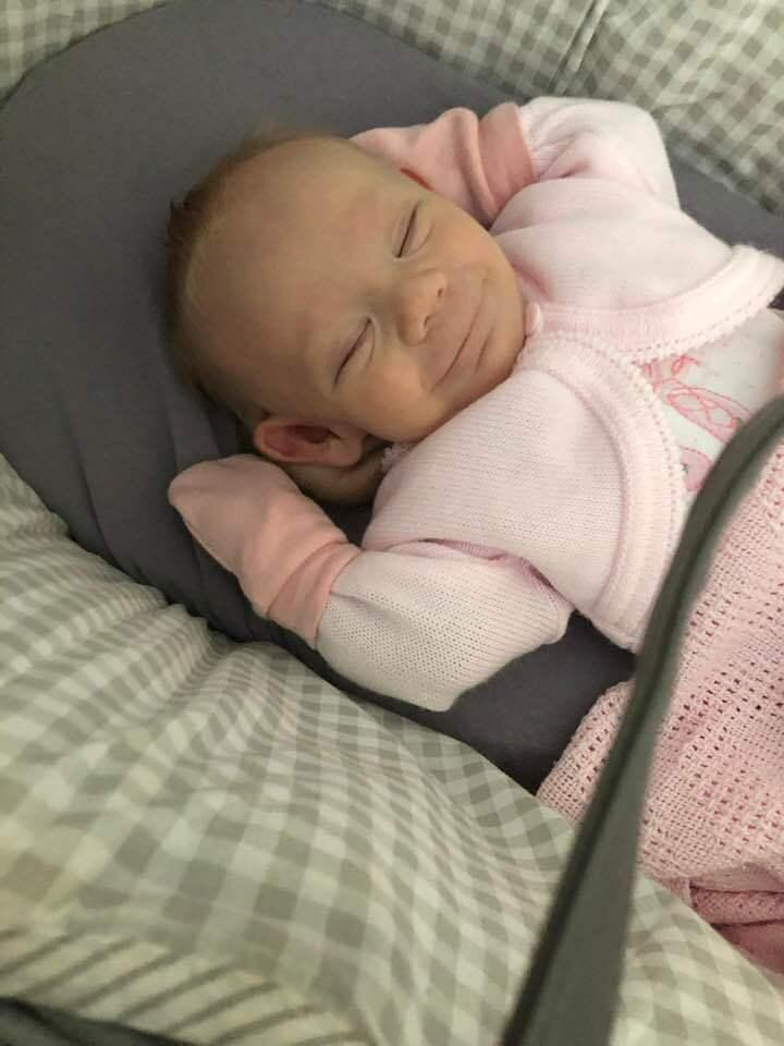 Baby with Turner Syndrome overcoming odds thanks to Alder