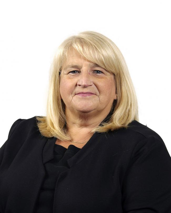 Cllr Pam Howard, independent councillor for Earelstown