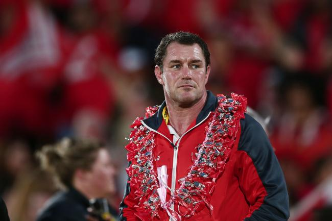 Saints new head coach on Tonga duty during the last World Cup. Picture: Andrew Cornaga/SWpix.com/PhotosportNZ
