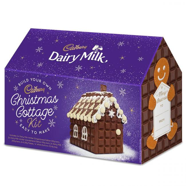 Christmas cottage by Cadbury
