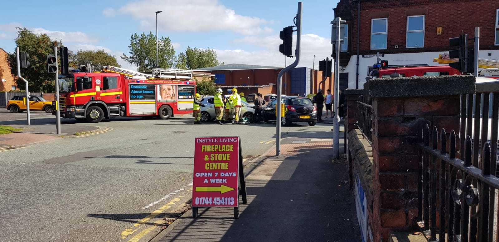 Calls for action over accident blackspot Boundary Road junction