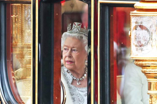 The Queen returns to Buckingham Palace