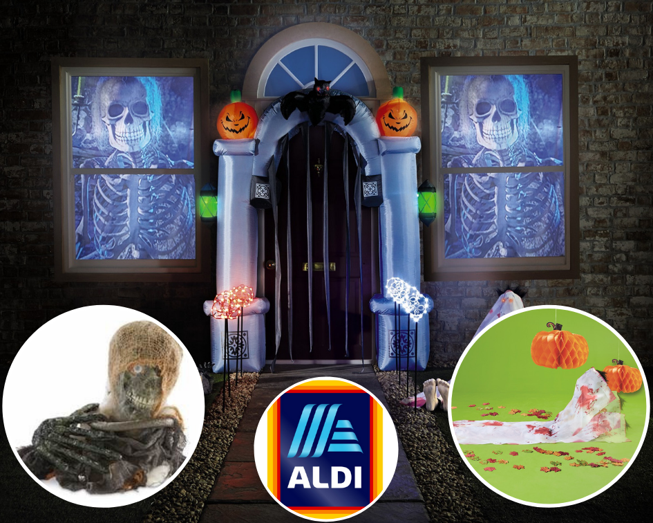 Aldi Halloween costumes are 'too scary' for the middle aisle