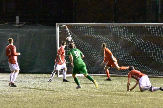 Phil Marsh's winning goal against Lower Breck