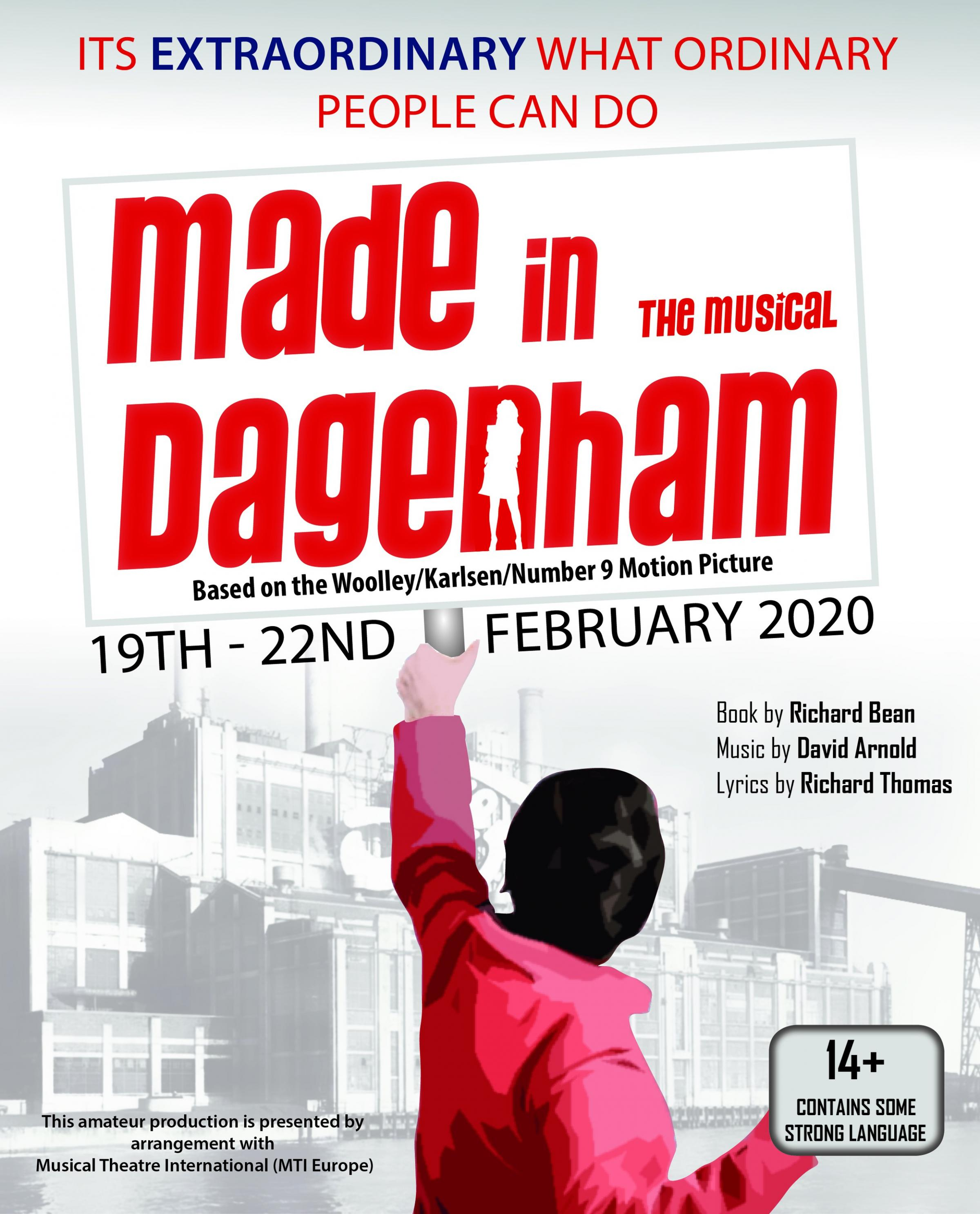 Mid Cheshire Musical Theatre Company Presents Made in Dagenham