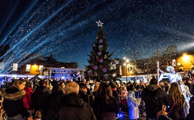 All you need to know about the Christmas Light Switch On