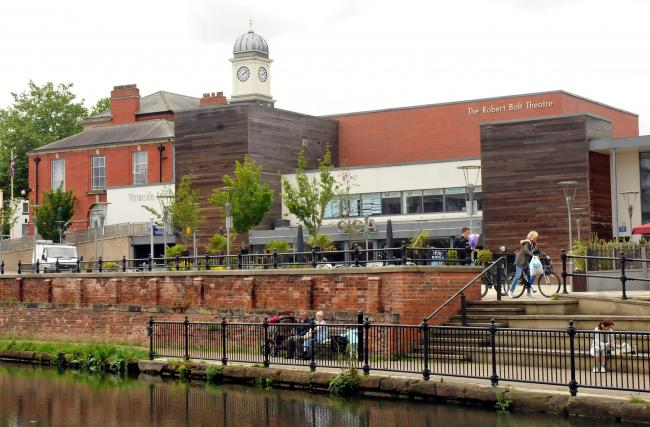 The Waterside Arts Centre in Sale