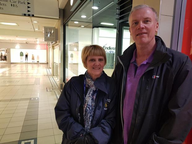 St Helens Star: Donna and Steven Standish from Haydock