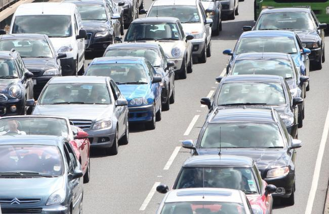 Two lanes of M62 closed after car crash near Rainhill Stoops