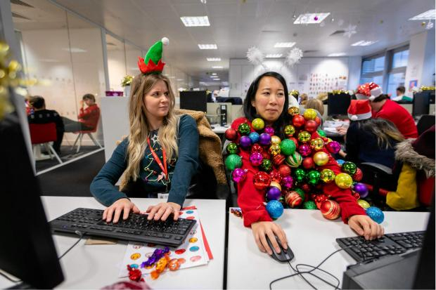 St Helens Star: You could create your own seasonal sweater for Christmas Jumper Day. Pic credit: Save the Children