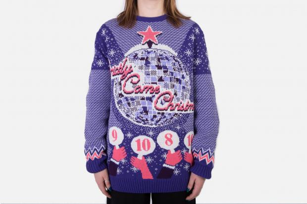 St Helens Star: The Save the Children range also includes a Strictly jumper. Credit: Notjust
