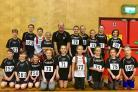St Helens Sutton runners at Sportshall Athletics