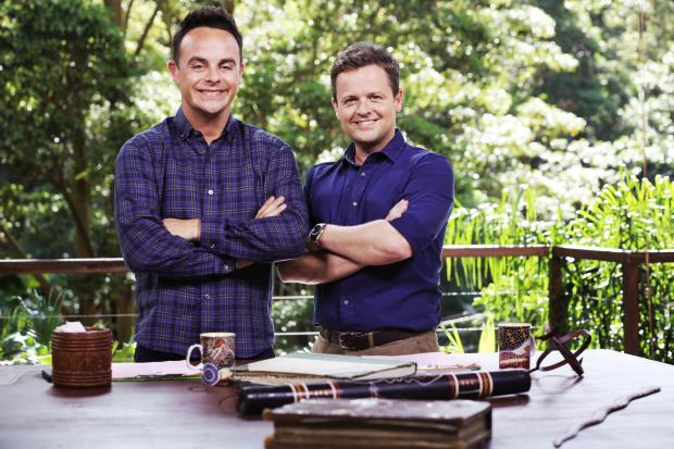 Ant and Dec hosting I'm A Celebrity