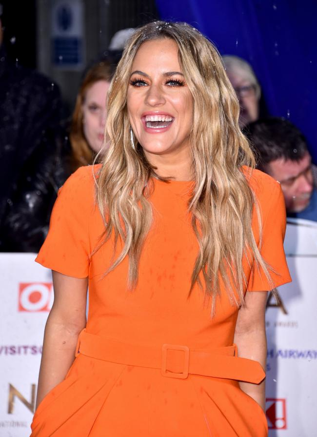 Caroline Flack, photo credit: Matt Crossick/PA Wire.