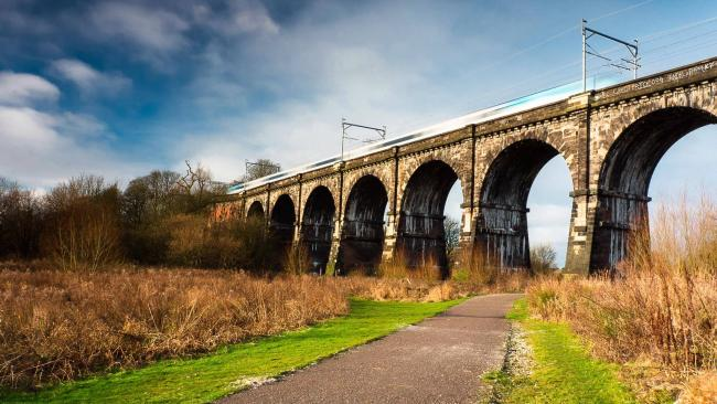 The Nine Arches Pic: Mike Chesworth