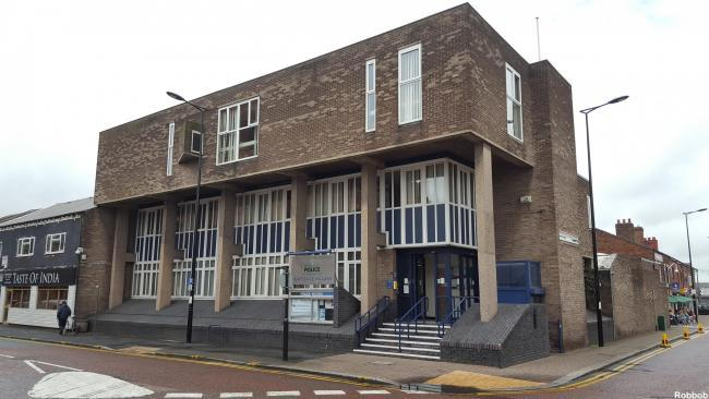 Newton-le-Willows police station