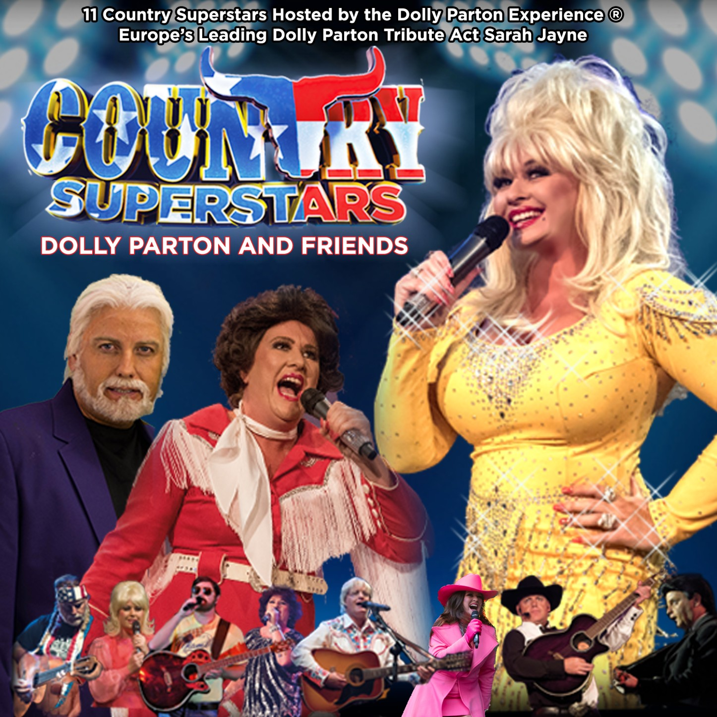 Country Superstars - Dolly Parton and Friends