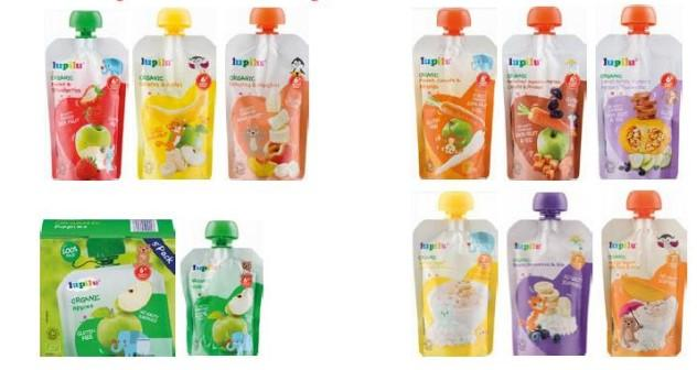 Lidl recalls baby food pouches over fears they contain mould