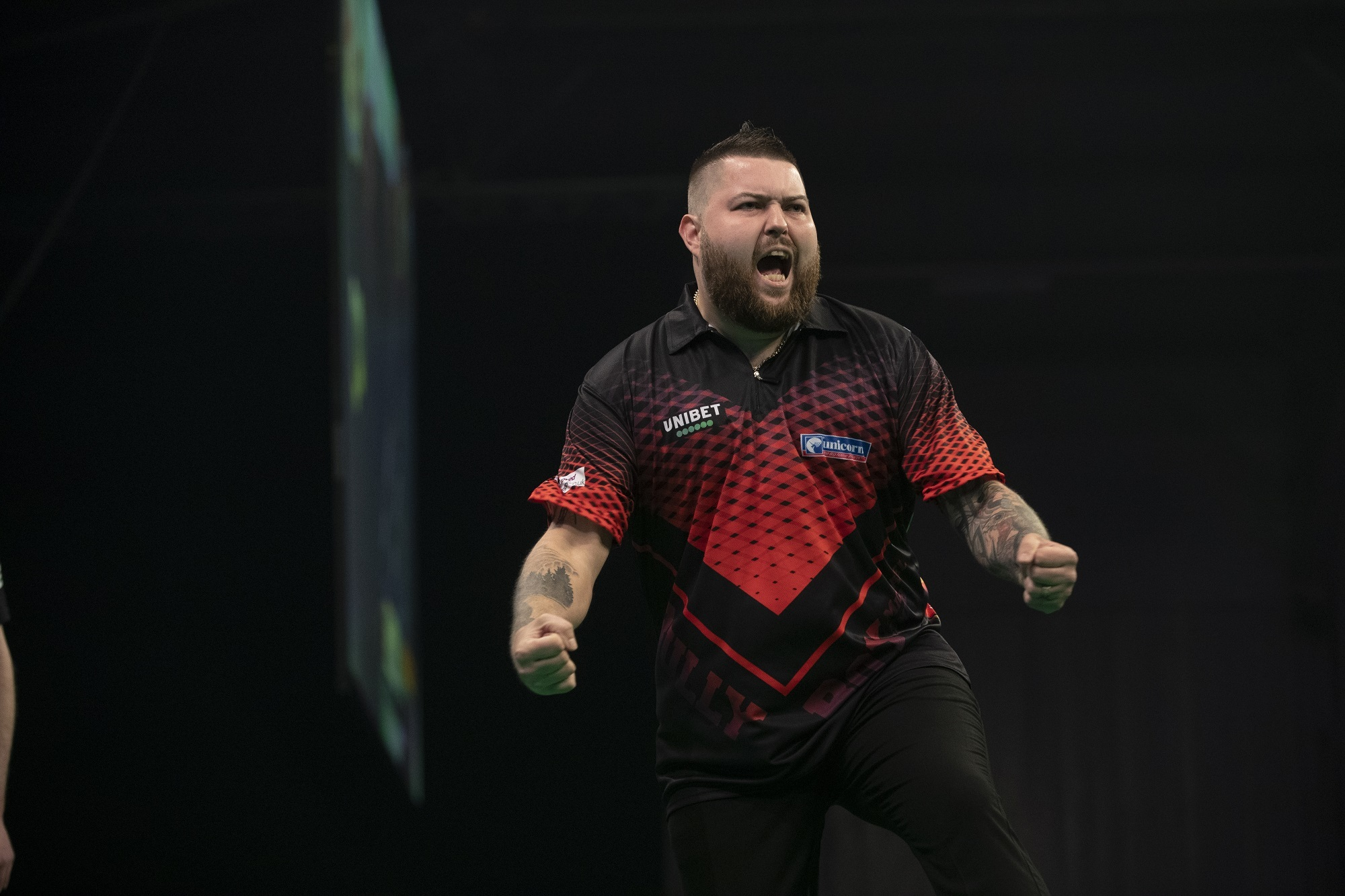 Stephen Bunting joins Michael Smith at Premier League in Liverpool