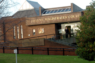 The woman appeared before St Helens Magistrates' Court.