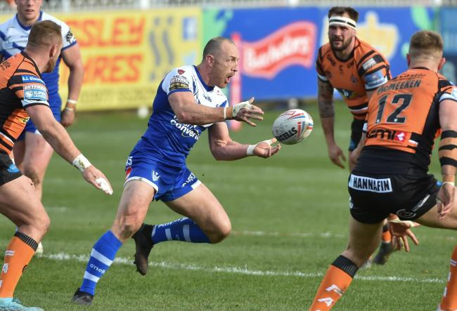 James Roby in action at Castleford. Pic: Bernard Platt