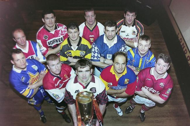 From the archives, 1997 Super League season launch at London Sports Cafe