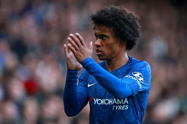 Willian, pictured, has completed his move to Arsenal