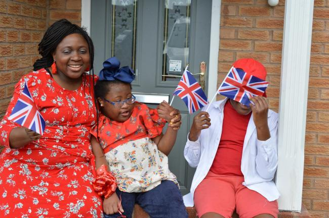 Cllr Bisi Osundeko's two children, Joy, 13, and Joseph, 11, were both born with complex disabilities