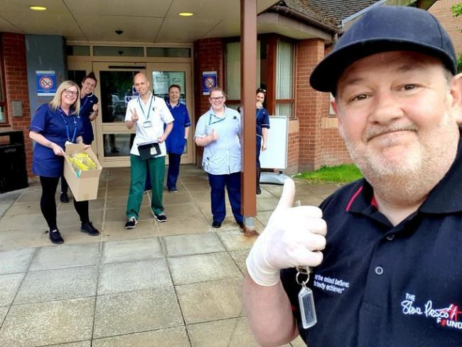 Johnny Vegas says helping people in St Helens throughout pandemic has helped him grieve his parents
