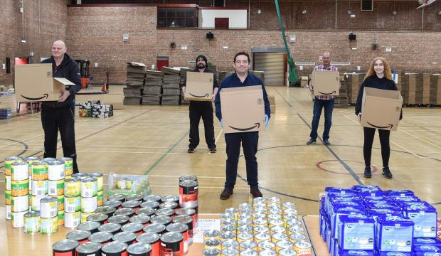 St Helens Star: The community hub operation has seen hundreds of food parcels delivered to the most vulnerable