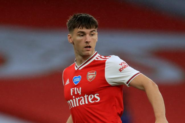 Kieran Tierney moved to Arsenal from Celtic last summer.