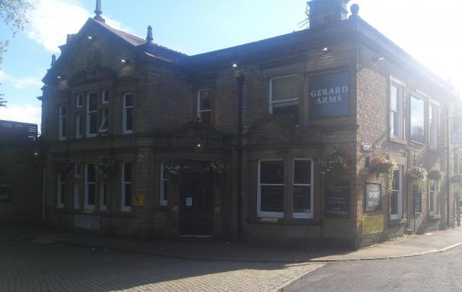 The Gerard Arms has closed temporarily