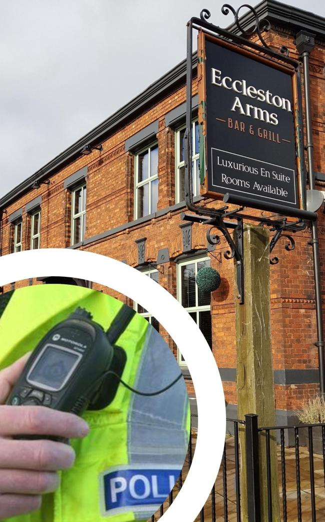 A woman has denied stealing from the Eccleston Arms
