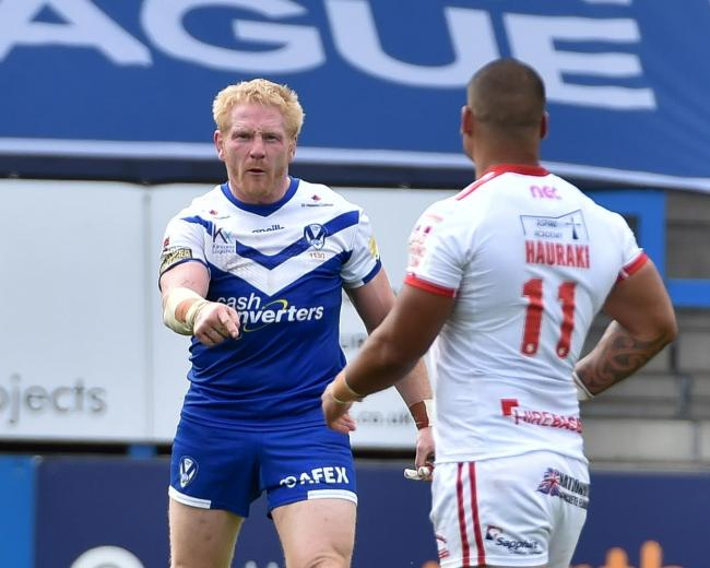 James Graham fired up last time out. Picture: Bernard Platt