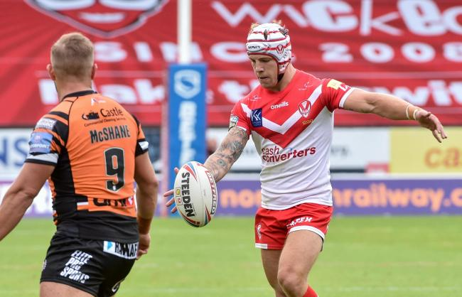 Theo Fages - chance of playing on Friday. Picture: Bernard Platt