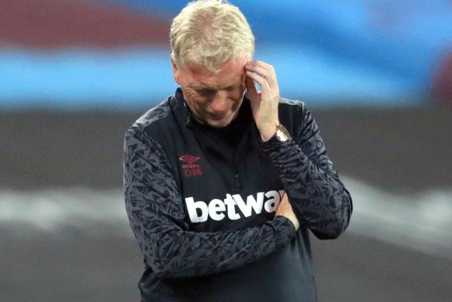 West Ham will be without manager David Moyes during the clash with Wolves