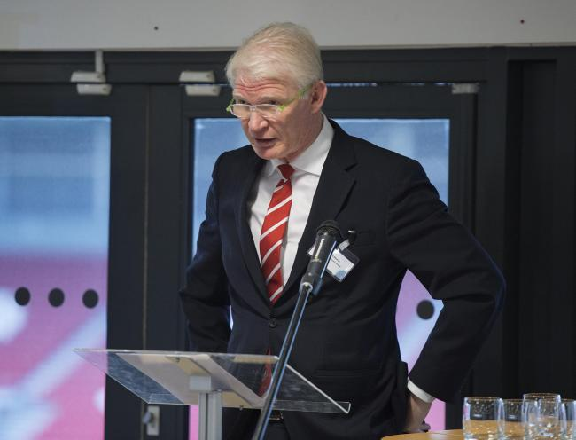 Eamonn McManus, chair of the St Helen's Economy Board, is an ambassador for St Helens