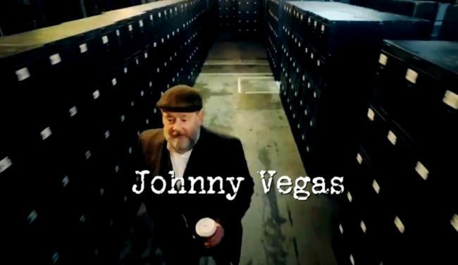 Johnny Vegas will make a big impression on the show