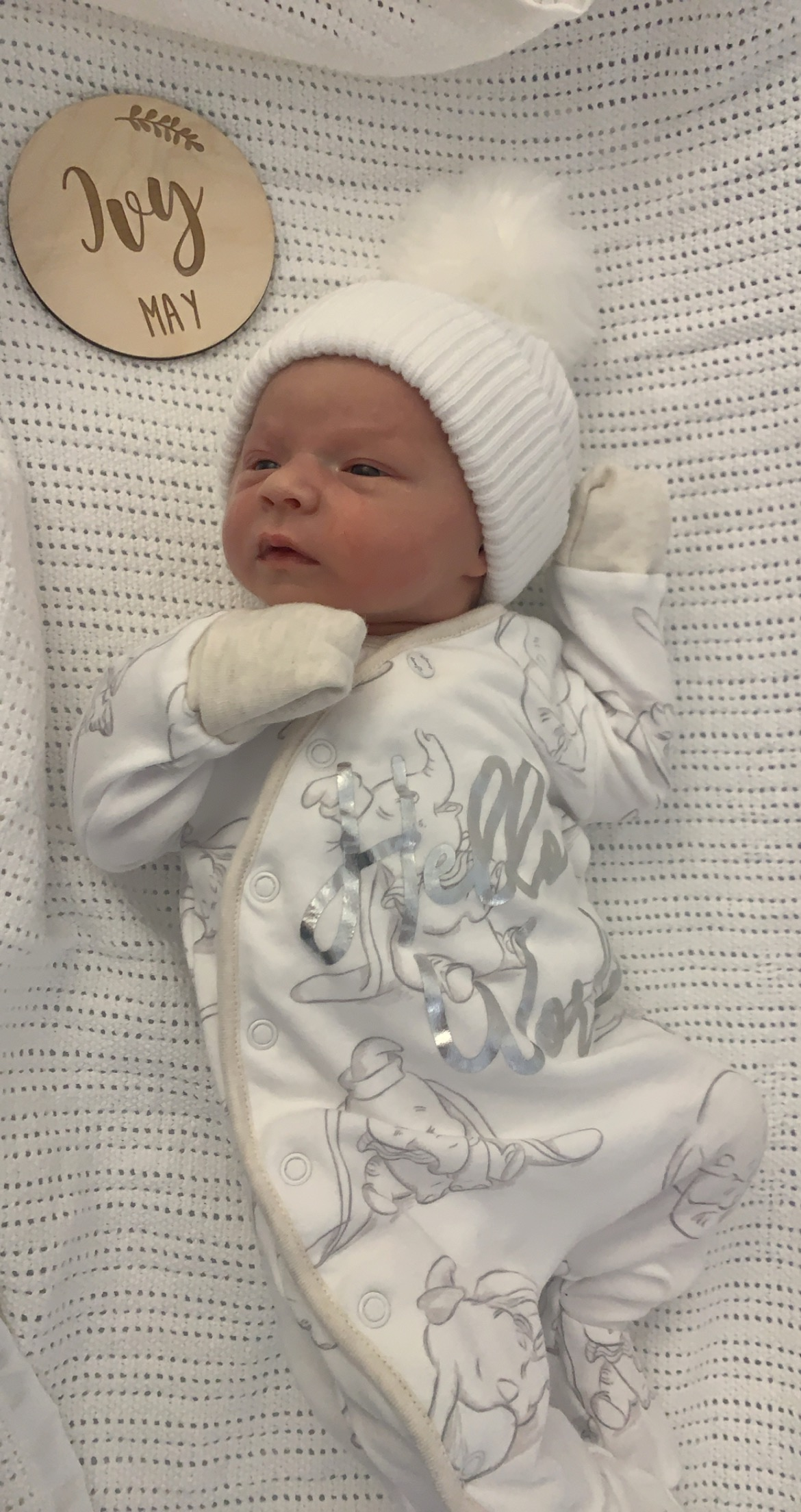 St Helens Star: Ivy May Hughes from Thatto Heath. Born on 01.10.2020 at 12:29pm, Weighing 6lb 15oz