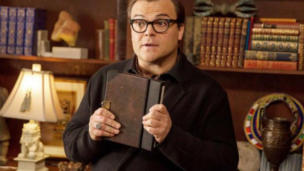 St Helens Star: Jack Black plays R.L. Stine in this imagining of what would happen if all of the Goosebumps books came alive at once! Credit: Columbia Pictures