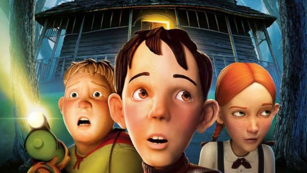 St Helens Star: Three kids must destroy a house, at first just seems creepy, but it's actually alive! Credit: Columbia Pictures