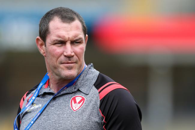 St Helens head coach, Kristian Woolf. Picture: SWpix.com