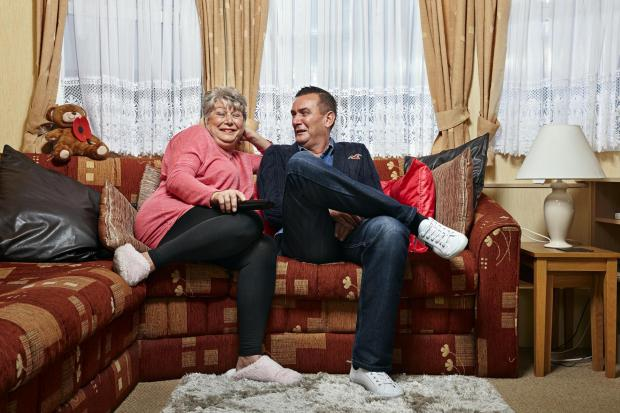 St Helens Star: Jenny and Lee. Picture: Channel 4